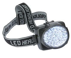 Expert Verdict 32-LED Head Light Head lights not only help you work, ride or walk hands free, they automatically direct the light to exactly where youre looking. This comfortable, lightweight model uses no fewer than 32 super-bright  http://www.MightGet.com/january-2017-11/expert-verdict-32-led-head-light.asp