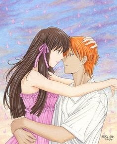 Kyo and Tohru, I think the worlds best couple