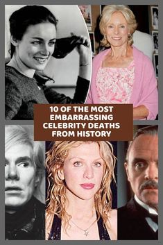 Whether ironic, shocking, or just plain gross, these embarrassing celebrity deaths throughout history show that not everyone gets to go out with dignity. Funny Images, Funny Pictures, Celebrity Deaths, Entertainment Video, Funny Vines, Top Funny, Health And Fitness Tips, Crazy People, History Books