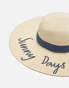 Shade null Embroidered Sun Hat , Size One Size Floppy Sun Hats, Joules Uk, Wide Brimmed Hats, Boot Socks, Mens Sale, Baby Accessories, Sunny Days, Sunnies, Chelsea Boots