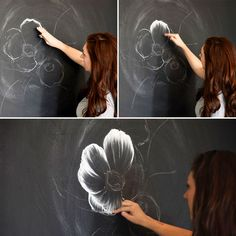 Follow this tutorial to create chalk art like a pro.