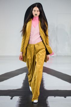 """Look 13 from the AALTO Autumn / Winter 2016 """"Hellsinki"""" -collection shown at Paris Fashion Week."""