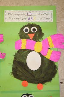 Mrs. Lee's Kindergarten: Penguin Math
