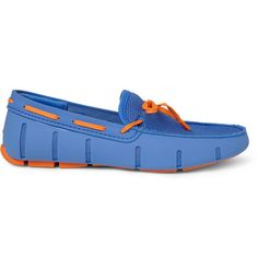 SWIMSRubber and Mesh Boat Shoes<> Okay! i NEED some of thys #Color #ASAP! too cute!