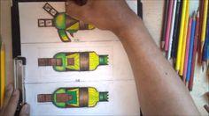 Dremico's Art Channel: Child of Terra Gamor gun speed art