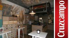 Proyectos #Ipunto #Interiorismo #Branding #Retail #Cruzcampo #Mobiliario #Calido
