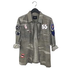 Army shirt camo camoflauge jacket