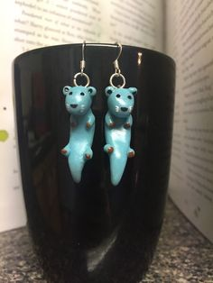 A personal favorite from my Etsy shop https://www.etsy.com/listing/271217374/patronus-earrings-hermione-otter-harry