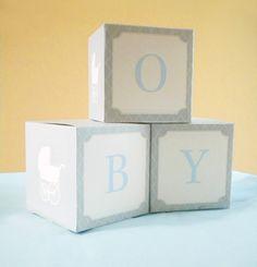 DIY Baby imprimable douche papier blocs poussette par onesweetparty