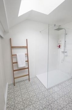 cementtegels badkamer
