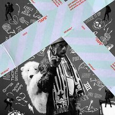 Soundcloud might still be in shambles, but arguably its biggest breakout 'Soundcloud Rapper,' Lil Uzi Vert, has just dropped a new mixtape. Titled Luv Is Rage 2 Rap Album Covers, Music Covers, Best Album Covers, Drake Album Cover, Cover Wallpaper, Rap Wallpaper, Iphone Wallpaper, Bedroom Wall Collage, Photo Wall Collage