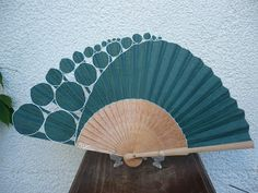 azul Hand Held Fan, Hand Fans, Fan Decoration, Umbrella Art, Umbrellas Parasols, Hot Flashes, Glass Wall Art, Gone With The Wind, Victorian Fashion