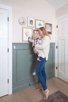 Want to hang a gallery wall in your home? Here are my best tips to hang a gallery wall with special pieces of art. Plus, how to make it safe for a baby's room. #gallerywall Above Couch, Above Bed, Baby Dresser, Diy Playbook, Nursery Neutral, Nursery Design, Artwork Design, Home Improvement Projects, Home Renovation