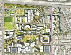 The Martin Luther King Jr. Medical Center Campus Master Plan | Los Angeles, USA | AHBE Landscape Architects