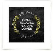 Smile Art Prints