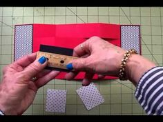 """""""PAINT THE TOWN RED"""" FINISHING THE TRI-SHUTTER CARD"""