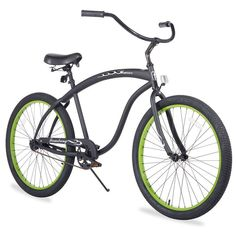 Firmstrong Men's 26-in. Bruiser Single-Speed Beach Cruiser Bike, Black