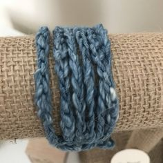 Denim-Colored Croche