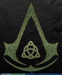 Assassin's Creed in Celtic Knots - and I know which brotherhood im joining.