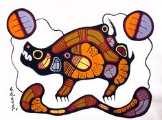Woodland Indian and First Nations Art :: Gallery Phillip Native Canadian, Canadian Art, Native American Art, Woodland Indians, Woodland Art, Native Style, Native Art, Woodlands School, Cool Artwork