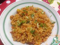 Булгур по-турецки - кулинарный рецепт