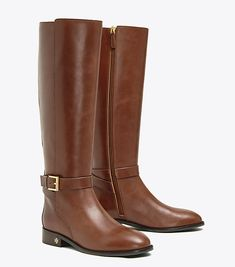 Visit Tory Burch to shop for Brooke Riding Boot and more Women's Private Sale. Find designer shoes, handbags, clothing & more of this season's latest styles from designer Tory Burch. Napa Leather, Brown Leather, Equestrian Boots, Leather Riding Boots, Long Toes, Minimalist Fashion, Minimalist Style, Knee High Boots, Designer Shoes