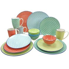 Found it at Wayfair.co.uk - Mediterranean 16 Piece Dinnerware Set