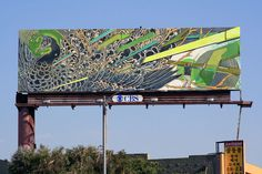 Street art in Los Angeles. Billboards invasion - Covering - Street-art and Graffiti | FatCap