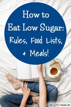 We have been eating a low sugar diet for a while and I'm sharing our favorite meals, recipes, food lists, etc. (for snacks, desserts, everything). If you want to do a zero sugar diet, this will help! It's great for losing weight btw! We eat so much more healthy meals and I've found so many foods that you might think are healthy but actually have a ton of sugar in them! Such good info! Healthy Habits, Healthy Tips, Healthy Meals, Healthy Recipes, Eating Healthy, Diet Food List, Food Lists, Easy Meal Prep, Quick Easy Meals