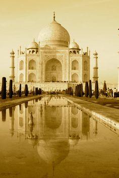 Taj mahal Taj Mahal, Building, Travel, Viajes, Buildings, Destinations, Traveling, Trips, Construction