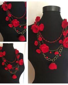 RalucaOhWeGlow | Breslo Crochet Necklace, Necklaces, Blog, Jewelry, Fashion, Moda, Jewlery, Crochet Collar, Bijoux