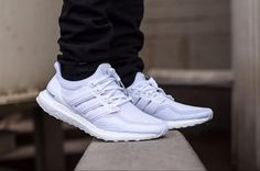 Adidas Ultra Boost 2.0 Triple White — Various colours of Adidas Ultra Boost just got restock.