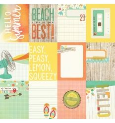 3x4 Cards Summer Vibes