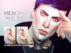 Piercings in 15 colors solid / 5 duo). All genders. The shape of the ears may need to be adjusted to fit the piercings, but it should be no problem as they look good with many earshapes. Found in TSR Category 'Sims 4 Female Earrings' The Sims, Sims Cc, Ear Cuff Piercing, Ear Piercings, Sims 4 Piercings, Evil Person, Sims 4 Cc Kids Clothing, Stretched Ears, Sims 4 Mods