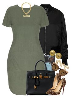 """Untitled #1441"" by power-beauty ❤ liked on Polyvore featuring Topshop, Hermès, Christian Louboutin, Chanel and ASOS"