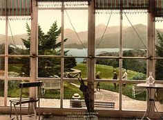 Roches Roayl Hotel, Glengariff Harbor, County Cork - photochrom print of Ireland courtesy of Library of Congress Belfast, Zeppelin, Beautiful Hotels, Beautiful Places, Ireland Pictures, County Cork Ireland, Houses Of The Holy, Ireland Homes, Paradise On Earth