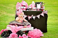 Minnie Mouse Party Printables Sign  Girls by KROWNKREATIONS, $3.99