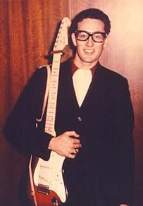 Buddy Holly in color