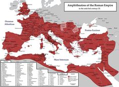 The Roman Empire_Amphitheatres