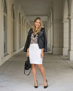 Inspiration: Harper's Bazaar  When I posted recently about whether or not a leopard coat is practical, I love how many of you guys said leopard is a neutral! Indeed, leopard no longer feels