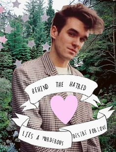 """""""Boy With A Thorn In His Side"""" graphic #Morrissey #TheSmiths"""