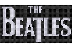 Looking for your next project? You're going to love The Beatles Cross Stitch Pattern by designer bracefacepatterns. - via @Craftsy