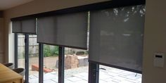 Electric Blinds With Mermet Specialist Fabrics