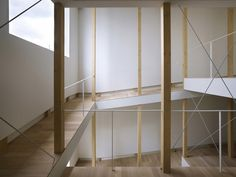 Fujiwaramuro Architects / house of slope