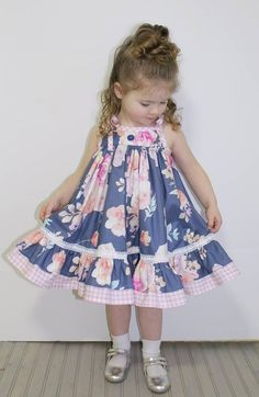 Frocks For Girls, Kids Outfits Girls, Cute Outfits For Kids, Little Dresses, Little Girl Dresses, Baby Christening Gowns, Baby Boutique Clothing, Baby Frocks Designs, Mother Daughter Outfits