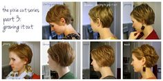 the pixie cut series, part 3: growing it out. specific tips & advice for growing that pixie cut out. it can be done, i promise!    via unspeakablevisions.com #pixiecut #haircut #hairstyle #growingoutapixiecut