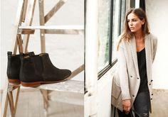 Fall collection 2013 by SÉZANE / SEZANE by Morgane Sezalory http://www.sezane.com  *Chelsea boots