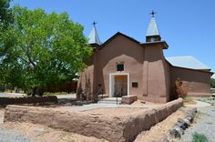 San Ysidro Mission built in 1658, Corrales, NM