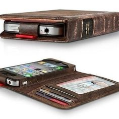 An iphone case that looks like an old book? Yes, please!