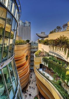 Namba Park - The Amazing park in Japan